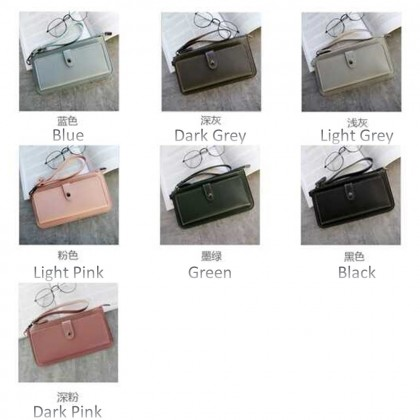 4GL Korean Fashion Long Women Purse Clutch P007
