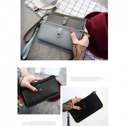 4GL P007 Long Purse Korean Fashion Women Clutch