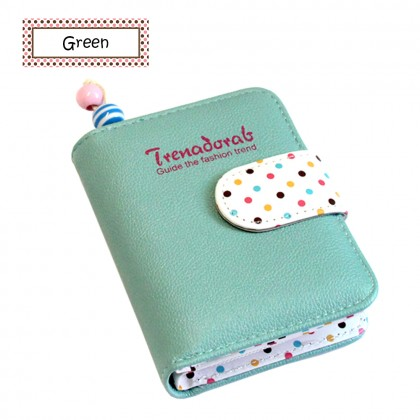 4GL Trena Short Purse Korean Fashion Wallet With Coin Pocket Zip