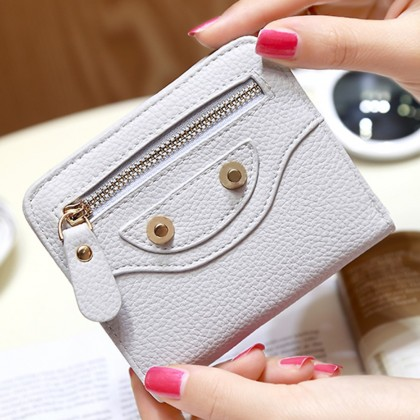 4GL X102 Korean Fashion  Cute Women Short Purse Wallet