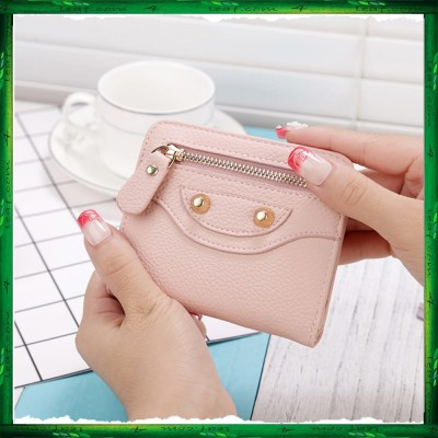 4GL Korean Fashion  Cute Women Short Purse Wallet X102