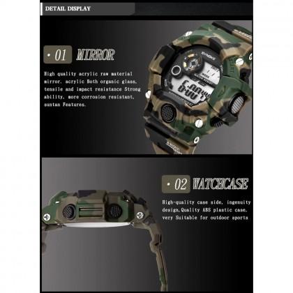 4GL Synoke 9448 30M Waterproof Multi-functional Watch Men Women