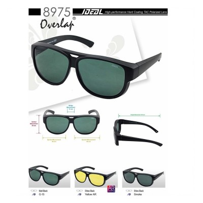 4GL IDEAL 8975 Fit Overlap Polarized Sunglasses
