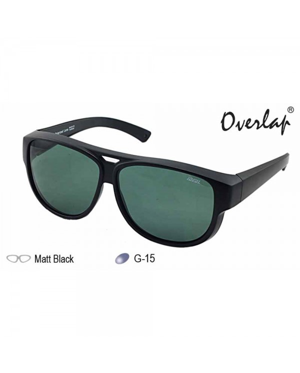4GL IDEAL 8975 Fit Overlap Polarized Sunglasses