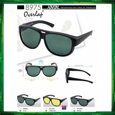 IDEAL 8975P Fit Overlap Polarized Sunglasses
