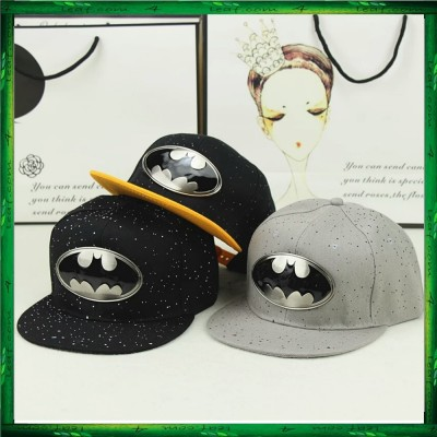 Batman Gold Silver Plated Snapback Cap Men Women