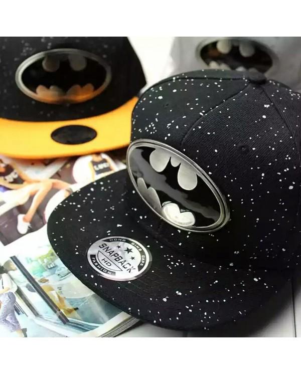 Batman Gold Silver Plated Snapback Cap Men Women