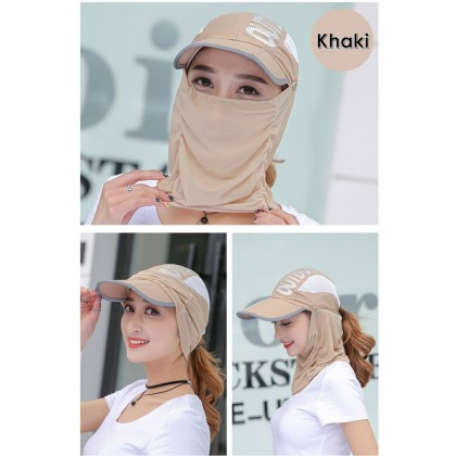 Outdoor Sport Face Shield Neck Cover Protect Hats Anti Mosquito Hat Unisex