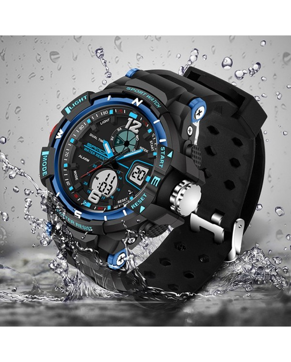 4GL Sanda 289 Sport Men Watch Fashion Waterproof Analog Sports Jam Tangan