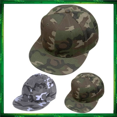 Camouflage Color Unisex Baseball Cap Woman Mens Camo Army Green Snapback Hats