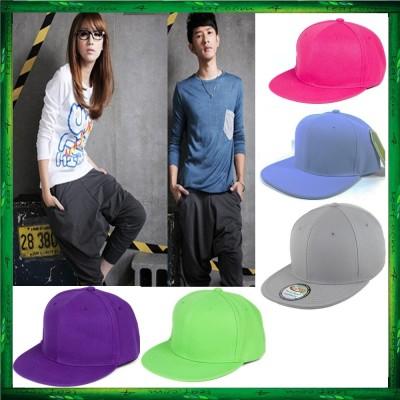 Fashion Unisex Baseball Cap Plain Snapback Hat Adjustable Cap