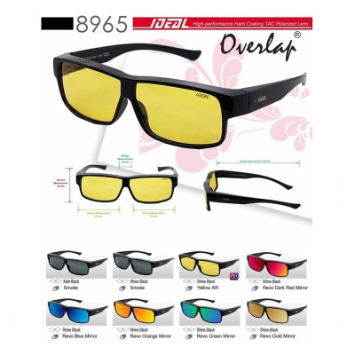 4GL IDEAL Fit Over Overlap Polarized Sunglasses 8965