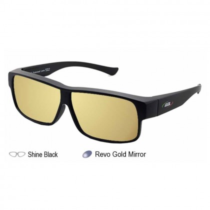4GL Ideal 8965 Polarized Sunglasses Fit Over Overlap