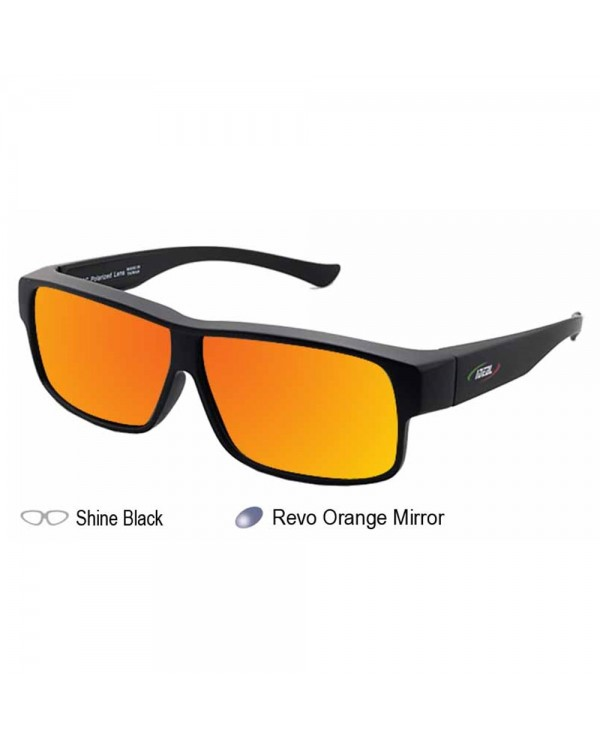 4GL IDEAL Fit Over Overlap Polarized Sunglasses 8965
