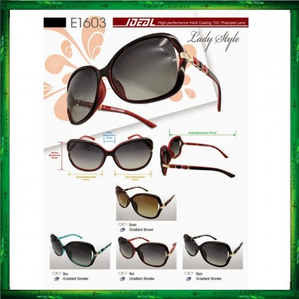 4GL Ideal E1603 Lady Style Polarized Lens Women Sunglasses
