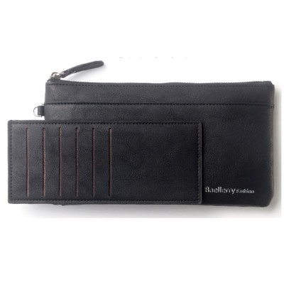 Baellerry C1288 Large Zip Vintage Long Wallet Women Purse