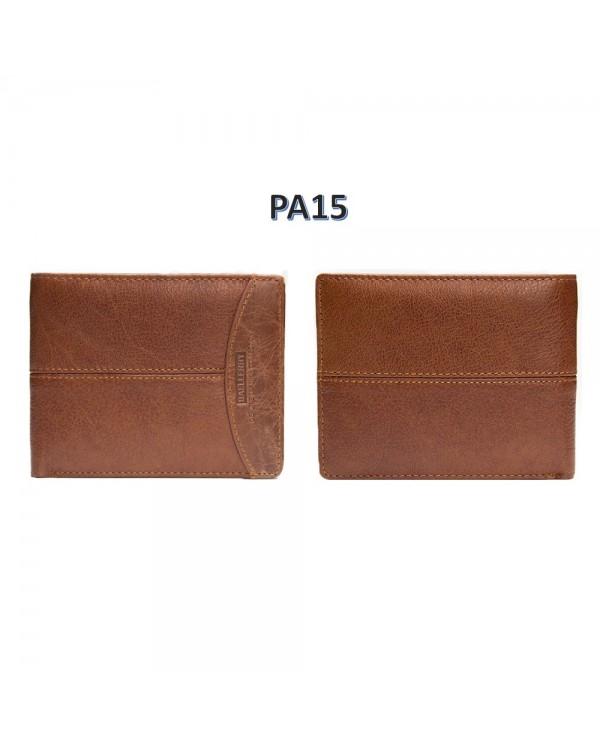 4GL BAELLERRY Leather Wallet Men Short Wallet Dompet 208-PA15