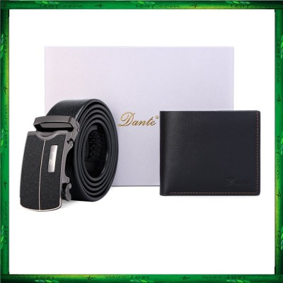 Dante Premium Men Wallet Belt Gift Set DWB01