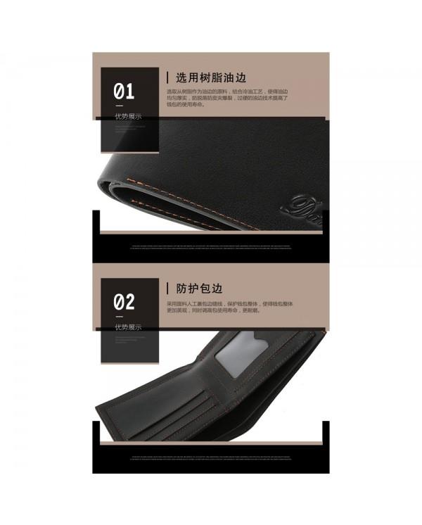Dante Premium Men Wallet Belt Gift Set DWB01