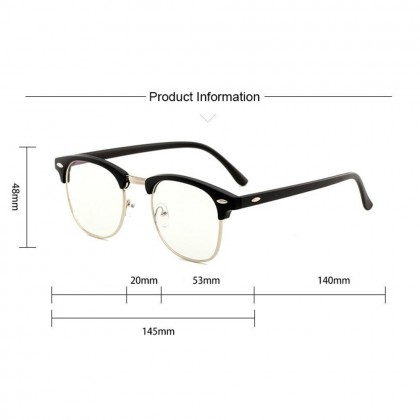 4GL DESIGN C Glasses Computer Eye Strain Reduction Anti Blue Light Blocking