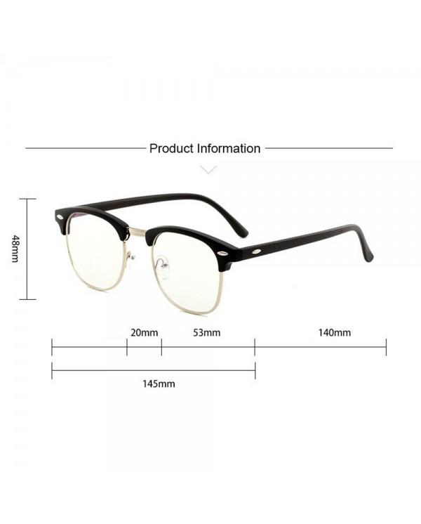 4GL Design C Computer Eye Strain Reduction Anti Blue Light Blocking Glasses