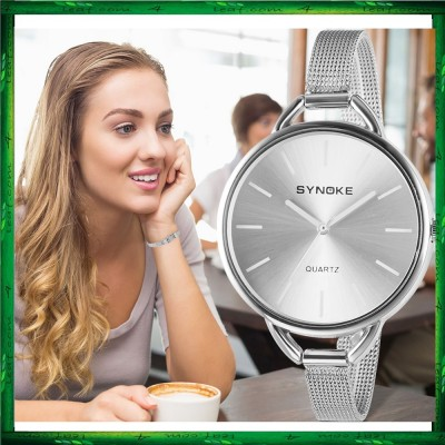 SYNOKE 3609 Fashion Ladies Wrist Watch Women's Top Brand Jam tangan Women Watch