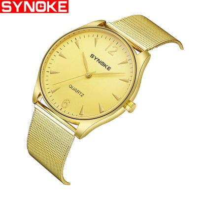 4GL Synoke 3619 Men Steel Watch Watches Jam Tangan