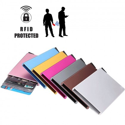 4GL 870-00 RFID Protected Pop-up Metal Card Holder