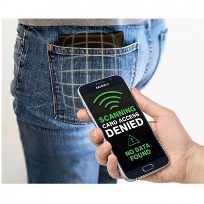 4GL 870-00 RFID Protected Pop-up Metal Card Holder
