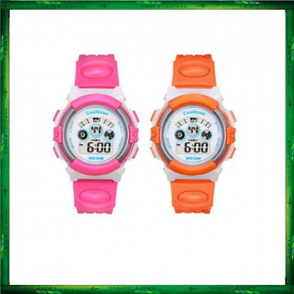 4GL CoolBoss / CooBoss CB-01 Girls Boys Kids Watch Digital Watch Watches Jam Tangan