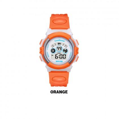 4GL CoolBoss / CooBoss CB-01 Girls Boys Kids Watch Digital Watch Watches Jam Tangan