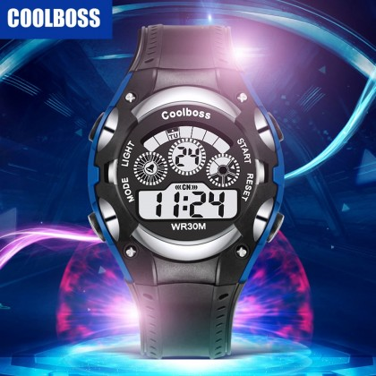 4GL CoolBoss / CooBoss CB-06 Boys Children Kids Watch Digital Watch Watches Jam Tangan