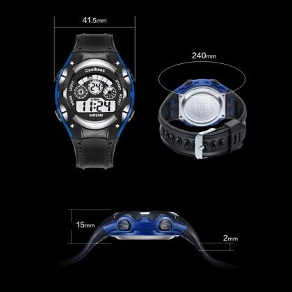 4GL CoolBoss / CooBoss CB-06 Boys Children Kids Watch Digital Watch Watches Jam Tangan