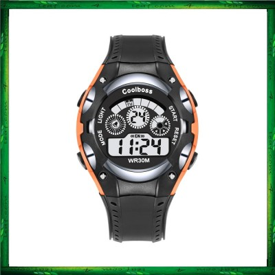 4GL CoolBoss CB-06 Boys Children Kids Watch Digital Watch Watches Jam Tangan