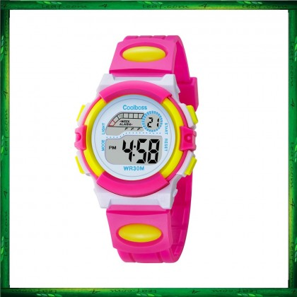 4GL CoolBoss / CooBoss CB-02 Girls Boys Kids Watch Digital Watch Watches Jam Tangan