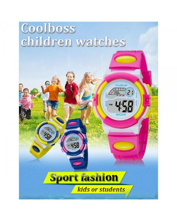 4GL CoolBoss CB-02 Girls Boys Kids Watch Digital Watch Watches Jam Tangan