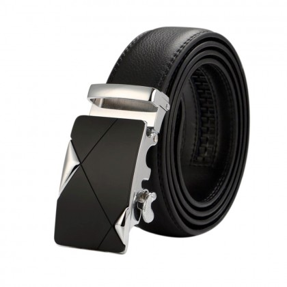 4GL XL01 XL Size 130cm Luxury Men Long Leather Belt Belts