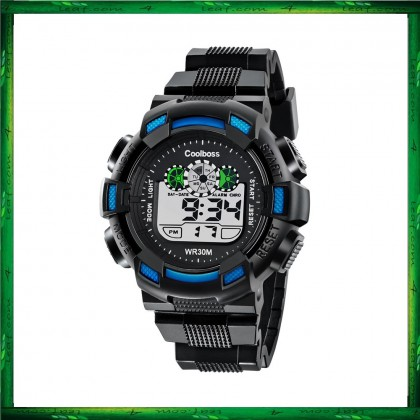 4GL CoolBoss / CooBoss CB-04 Men Watch Digital Watch Watches Jam Tangan