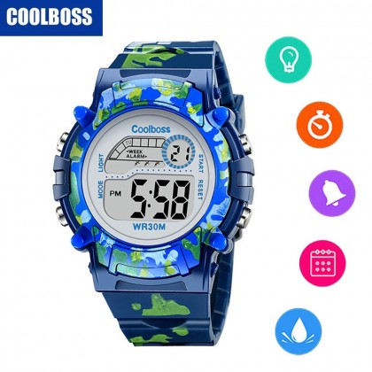 4GL CoolBoss / CooBoss CB-03 Girls Boys Kids Watch Digital Watch Watches Jam Tangan