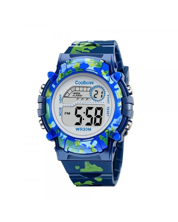 4GL CoolBoss CB-03 Girls Boys Kids Watch Digital Watch Watches Jam Tangan