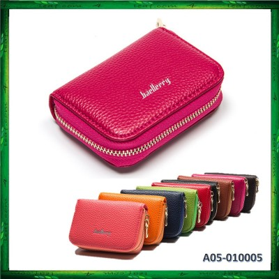 4GL Baellerry H2483 235 Leather Coin Purse Wallet Card Holder