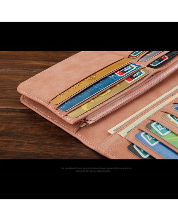 4GL Baellerry C1133 Unisex Men Long Wallet Purse Card Holder