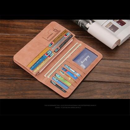 4GL Baellerry C1133 Long Wallet Unisex Men Purse Card Holder