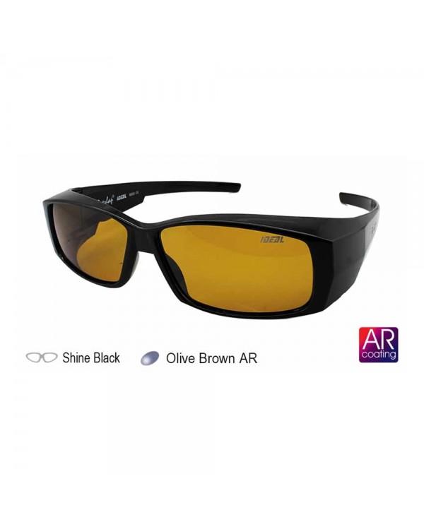 4GL IDEAL 8890 FitOver Overlap Polarized Sunglasses