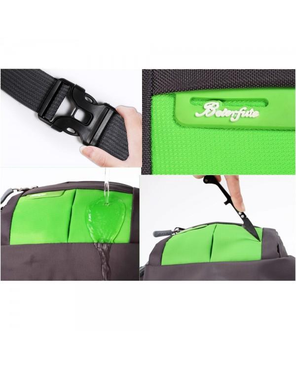 4GL Large Capacity Multi Functional Unisex Cash Wallets Chest Bag