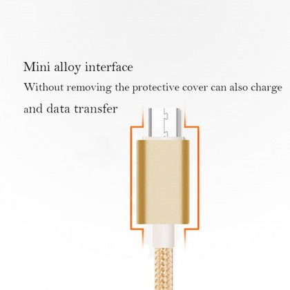 4GL GOLF Fast Charging USB Data Cable Phone Cable 1m