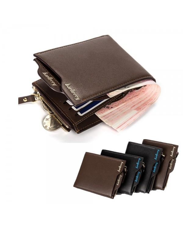 4GL BAELLERRY Men Women Short Wallet Purse D0888 Cross