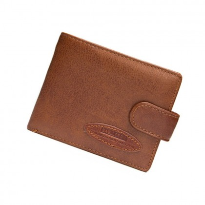 4GL BAELLERRY Leather Wallet Men Short Wallet Dompet 208-PA22