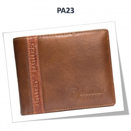 4GL BAELLERRY Leather Wallet Men Short Wallet Dompet 208-PA23