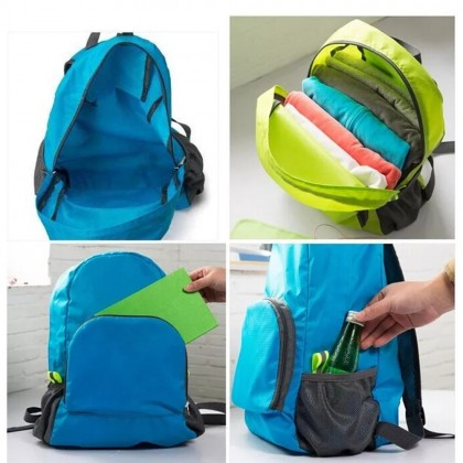 4GL Foldable Waterproof Super Light Travel Pouch Backpack